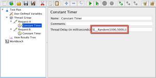 Constant Timer under Request A
